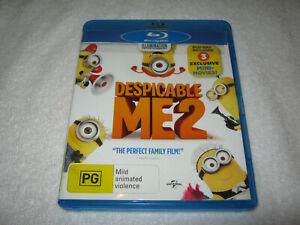 Despicable Me 2 - Blu-Ray Ex-Rental - Region B