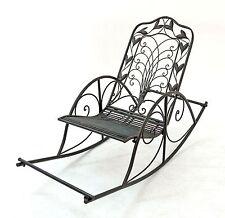 Sedia a Dondolo Rilassarsi 18614 Sdraio in Metallo Poltrona Relax