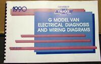 1990 Chevrolet Electrical Wiring Diagram Service Manual G Van Models