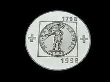 Schweiz-CH., 20 Franken, 1998 B, Helvetische Republik, Silber, orig. St.!
