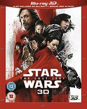 Star Wars The Last Jedi [Blu-ray 3D] [2017] [Region Free]