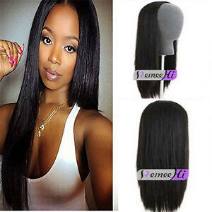 Wholesale Ladies Half Wig 3/4 Wig Fall Clip In human Hair   Forever Young  wig