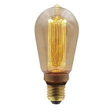 Vintage LED lámpara humor iluminación t45 4w 200 LM 1800k blanco cálido edison pera