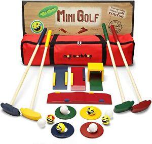 Wooden Kids Golf Set - Quality Crazy Golf and Mini Golf Set