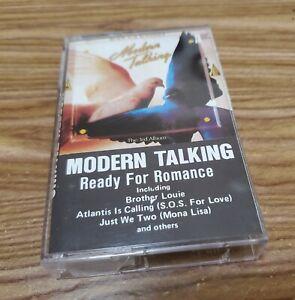 Modern Talking - Ready For Romance The 3rd Album Cassette Tape