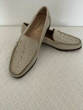 van dal loafers 3 C Cream Italy Leather