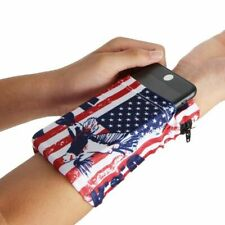 Wrist Phone Running Bag Wristband Fitness Pouch Gym Arm Pocket Jogging Cycling