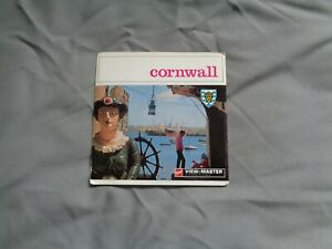 GAF VIEWMASTER PACKET REF C 285 CORNWALL  WALLET TYPE  AS PHOTOS