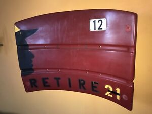 Three Rivers Stadium Painted Seat-back, Clemente, Retire 21, Baseball, Great One