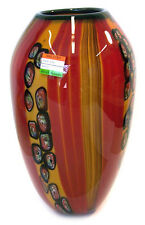 Murano Art Glass Vase  with certificate A45