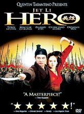 Jet Li, Hero (Dvd) New & Sealed.