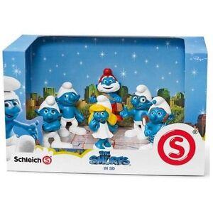 Smurf Movie Box Set - Schleich: vinyl miniature toy animal figure