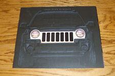 "Original 2002 Jeep Liberty Deluxe Sales Brochure 02 12"" x 10"""
