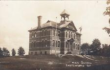 RP: CHATSWORTH , Ontario, Canada, 1900-10s ; High School