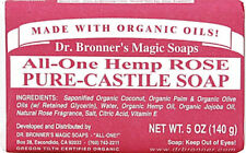 All-One Castile Bar Soap by Dr. Bronner's, 5 oz Peppermint