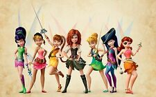 A3 TINKERBELL & THE PIRATE FAIRY 2 POSTER ART PRINT BUY2GET1FREE!