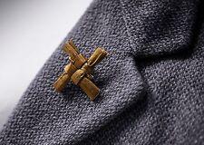 Irish Handcrafted Saint Brigids Cross  / St. Brigid's Cross Brooch / Brigids