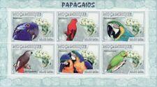 Mozambique - Parrots - Sheet of 6 Stamps - 13A-060