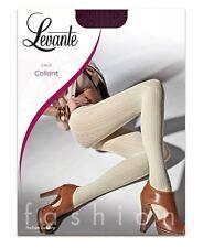 Levante Luxuriöse Mode Strumpfhose, blickdicht 60den, E402