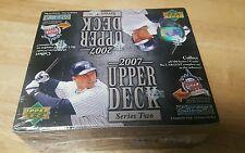 2007 UPPER DECK Baseball Cards 24 packs 8 cards per pack Game used memorabilia