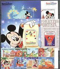 Walt Disney, Eurodisney - Antigua u.Barbuda - ** MNH