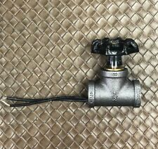 """STEAMPUNK ~ INDUSTRIAL 1/2"""" BLACK IRON PIPE ROTARY LAMP SWITCH BLACK"""