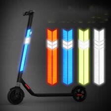 2Pcs Electric Scooter Reflective Stickers NINEBOT Waterproof Luminous Sticker