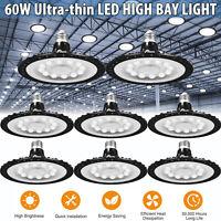 12-60W UFO LED Birnen Hallenleuchte Fluter Licht Warehouse Industrielampe #KY