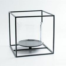 Cubic Metal Tealight Candle Holder - Large Cube