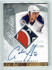 08-09 UD The Cup  Adam Pineault  /249  Auto  Patch  Rookie