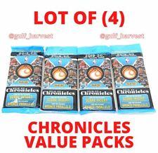 LOT (4) 2019-20 Panini NBA CHRONICLES Value/Fat/Cello Packs 2020- Zion/Morant???