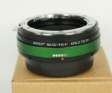 Focal Reducer Speed Booster Nikon G mount to Fuji Fujifilm XPro1 Aadapter 0.7X