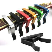 Change Key Capo Clamp for Electric Acoustic Guitar Quick Trigger Release New