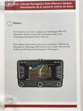 RNS 315 Navigation Map SD Card V10 North America 2018