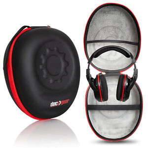 Hard Carrying Case for All Full-Sized Headphones by Deco Gear - Great for Travel