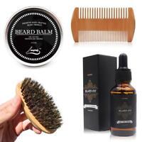 Beard Oil for Men - Grooms Beard, Mustache, boosts hair growth, Beard Whole Kit