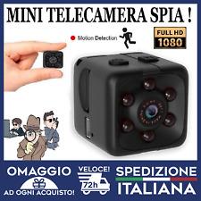 Mini Telecamera Nascosta spycam microcamera HD 1080p infrarossi  🇮🇹