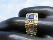 585 Gelbgold HerrenRing mit Lapis Ringgroße 65,5 Ringkopf 10,6x10,6mm Ge 9,85gr