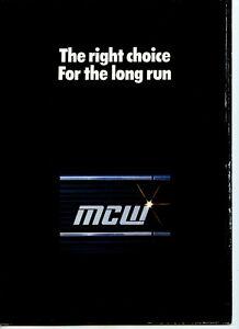 MCW Metrobus Brochure, 1978