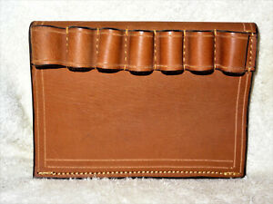 ~NEW~ 20 Gauge Leather Shotgun Sleeve **BROWN**