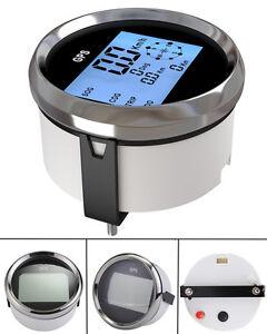 Waterproof GPS Digital Speedometer Odometer Gauge For Auto Car Truck Marine 85m