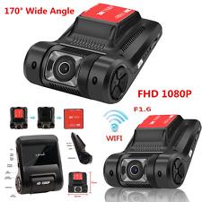 170° FHD 1080P WiFi Car DVR Video Recorder Dash Cam Camera Night Vision G-Sensor