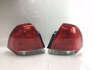 Pair 2011-2017 Chevy Chevrolet Caprice Tail Light taillight Left & Right OEM
