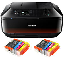 Canon PIXMA MX725 Multi-Function Unit Copier WLAN Printer Duplex + 10 x XL Set