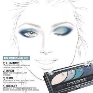 COVERGIRL EYE SHADOW #725 BREATHTAKING BLUES
