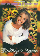 BRITNEY SPEARS-FROM THE BOTTOM OF MY BROKEN HEART-PIANO/V/GUITAR SHEET MUSIC NEW