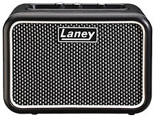 Laney SUPERGROUP Mini-SUPERG 3 Watt Battery Powered Desktop Guitar Amp Black