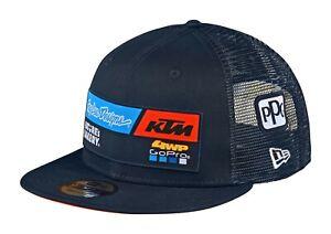 Troy Lee Designs KTM Team Snapback Hat Cap TLD MX Motocross Gear Navy OEM