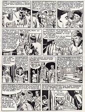 FULGOR (BILD) SUPERBE  PLANCHE ORIGINALE ARTIMA  ANNEES 1950 PAGE 6