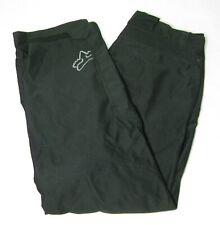 FOX Mens Solid Black Motorcycle Motocross Pants (Size 36 x 32) Zipper Pockets